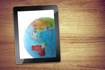 world desk tablet