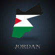 Jordan map - Jordanian map