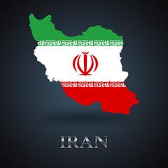Iran map - Iranian map