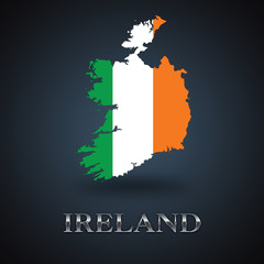 Ireland map - Irish map