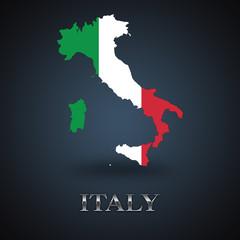 Italy map - Italian map