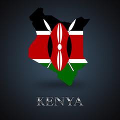 Kenya map - Kenyan map