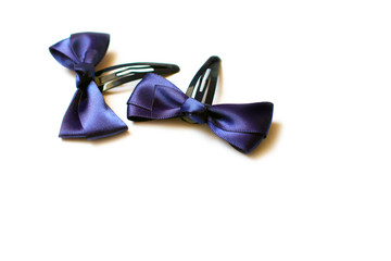 Two children's hair clips
