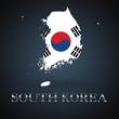 South Korea map - Korean map