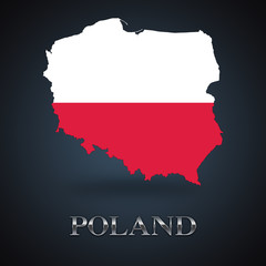 Poland map - Polish map