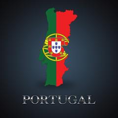 Portugal map - Portuguese map