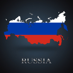 Russia map - Russian map