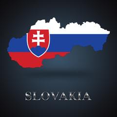 Slovakia map - Slovak map