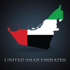 United Arab Emirates map - UAE map