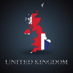 UK map - Great Britain map