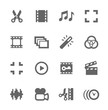Video Editing Icons - 65187599