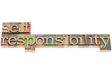 selfresponsibility word