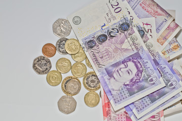 British Bank Notes and Coins