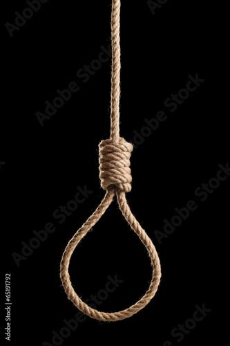 Dark hangman's rope - 65191792