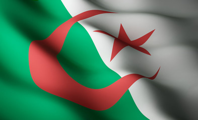 Algerian flag