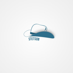 Abstact hat template. Corporate icon.