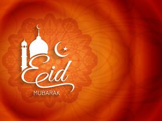Religious background design for Eid.
