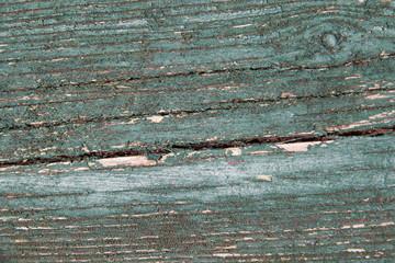 Altes Holz mit abgeblätterter Farbe