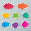 starburst speech bubbles - 65194920
