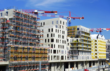 Construction d'immeubles