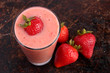 Strawberry smoothie - 65196125