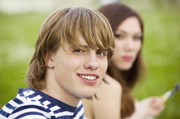 Zwei Teenager, Porträt