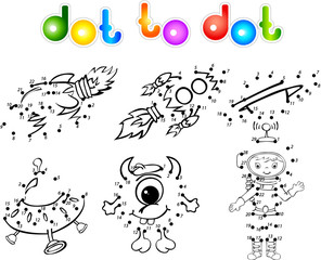 spase set 2 dot to dot