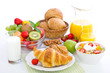 Healthy breakfast on the table - 65198170