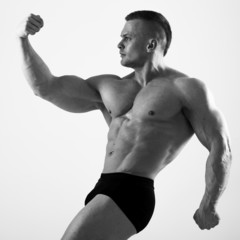 Handsome man with sexy body