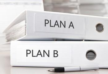 Plan A, Plan B - Aktenordner