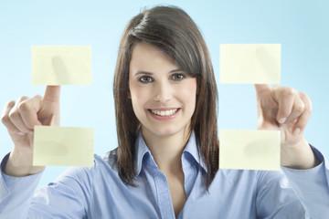 Geschäftsfrau lächelnd, Porträt
