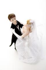 Ehepaarfiguren tanzen