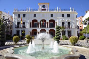 City Hall Priego de Cordoba, Spain