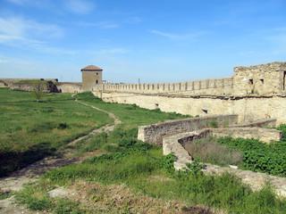Old fortress in town Bilhorod-Dnistrovsk i,