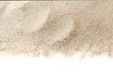 Sandy beach background for summer. Sand texture.