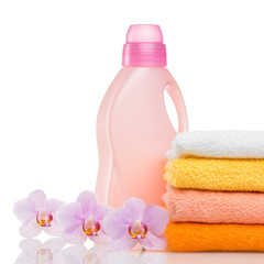 Detergent for washing machine in laundry with towels