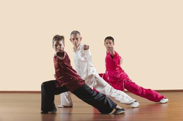 Kung Fu,Changquan,Gongbu ce chongquan,Lange Faust Stil,Personen asiatische Kampfkünste