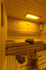 Sauna Innenraum