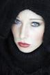 Porträt einer Frau , close-up