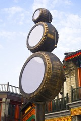 The image of taditional culture in Beijing, Asia