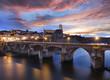 Ville d'Albi Vieux Pont au coucher de soleil