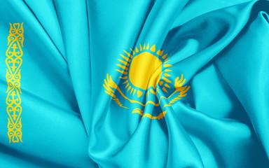Kazakhstan Fahne