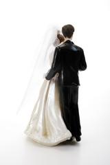 Ehepaar figuren, Rückansicht