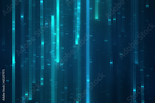 Abstract digital data stream background