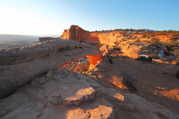 Sunrise in Canyonlands National Park
