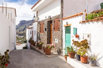 Gasse in Tejeda - Gran Canaria