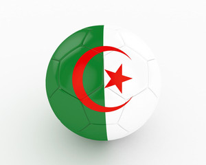 3d Algeria Fifa World Cup Ball - isolated