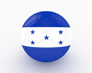 3d Honduras Fifa World Cup Ball - isolated