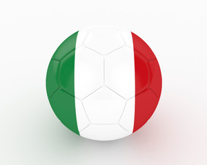3d Italy Fifa World Cup Ball - isolated