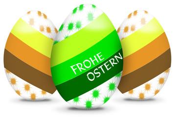Bunte Ostereier